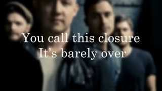The Fray - Break Your Plans (lyrics & Hd)