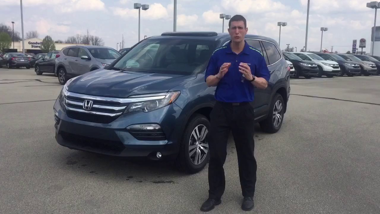 2017 Honda Pilot Ex L Awd Presented By Jeremy Rees Of Victory In Muncie Indiana