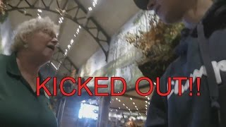 KICKED OUT OF BASS PRO SHOP?!