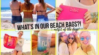☼ Beach Day Essentials + OOTD!