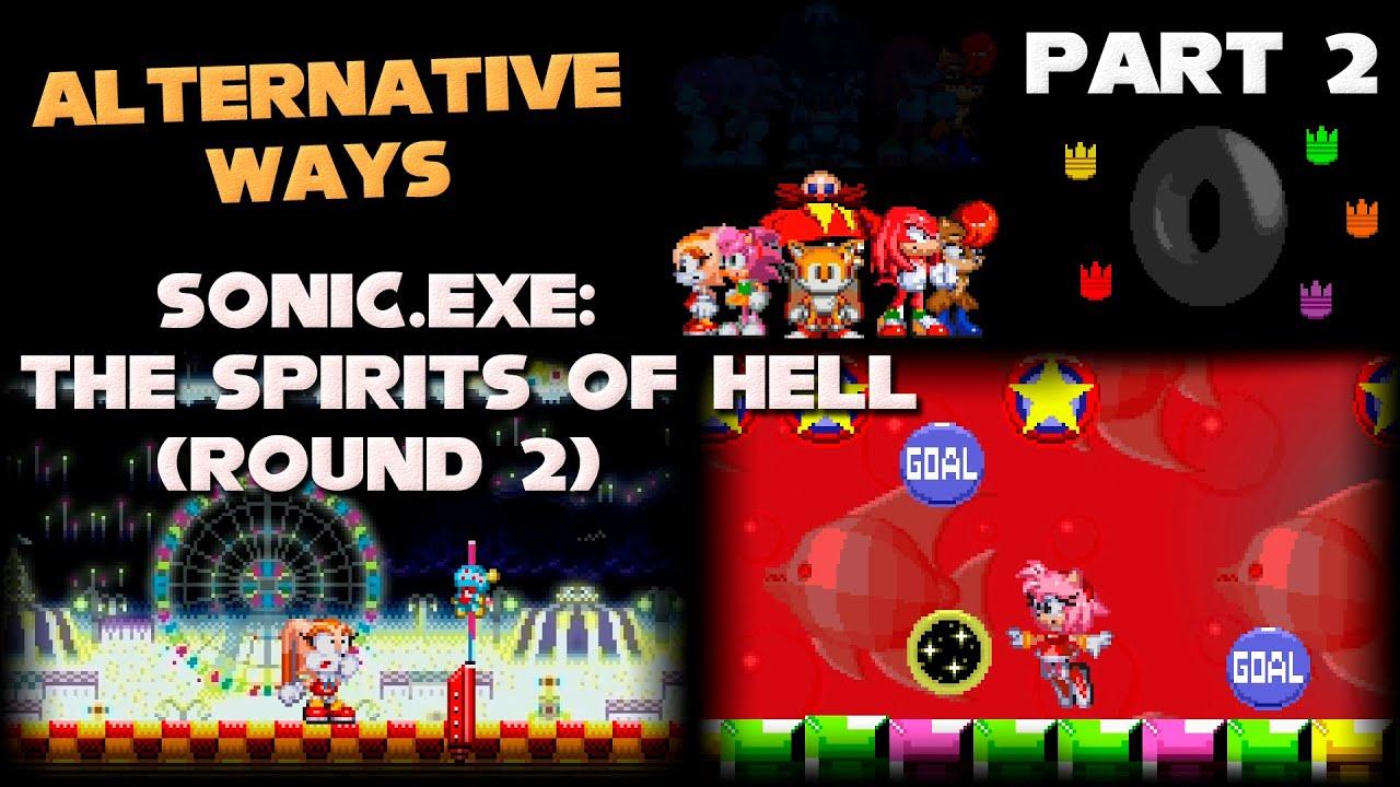 Sonic Exe Spirits By Dan Patient Bear – Fondos de Pantalla
