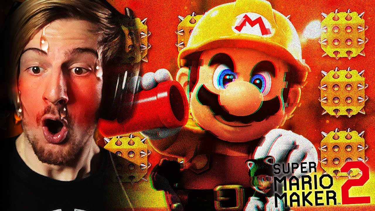 The Rage Begins Super Mario Maker 2 Youtube