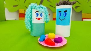 Игры и видео для детей. Сладкоежка: куда делись конфеты?