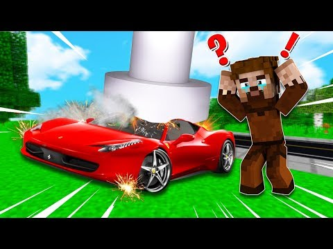FAKİR'in ARABASI PARÇALANDI!😱 - Minecraft thumbnail