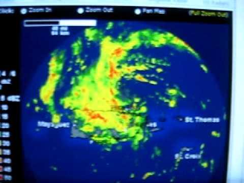 Sub - Tropical Storm Olga 2007( Radar )