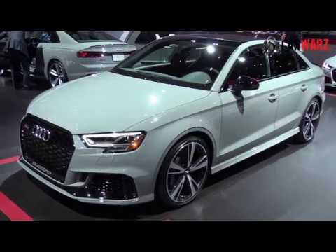 2019 Audi RS 3 Sedan 400HP $55,000 At The NAIAS Detroit ...