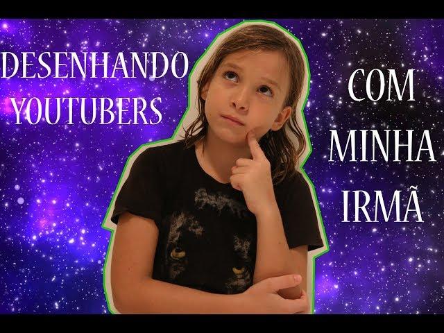 DESENHANDO YOUTUBERS COM MINHA IRMÃ - Aris.TV, Ep. 64