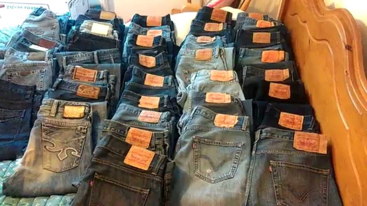 23e79543 My collection of Levis and Diesel jeans to sell online from last 6 months
