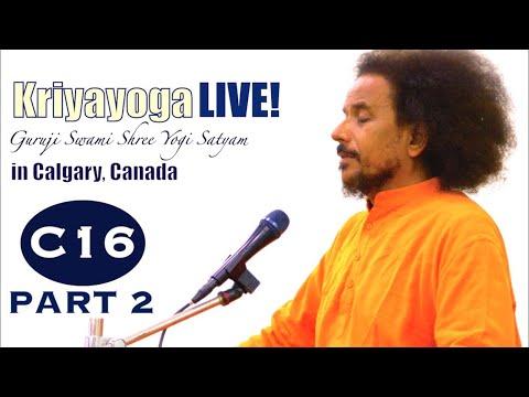 Kriyayoga LIVE 10-03-2018 7am (C16) Calgary Program, Class #16, PART 2 Philosophy+Practice