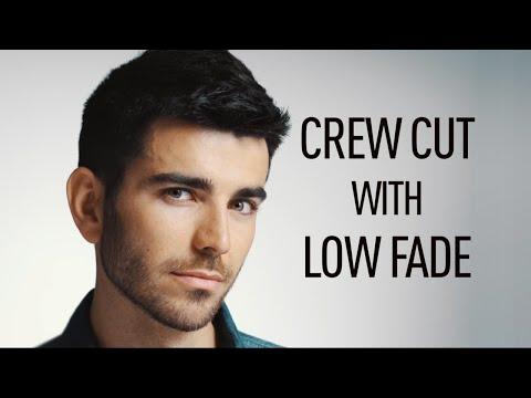 Crew Cut With Low Fade | Panasonic ER-SC60/ER-SC40