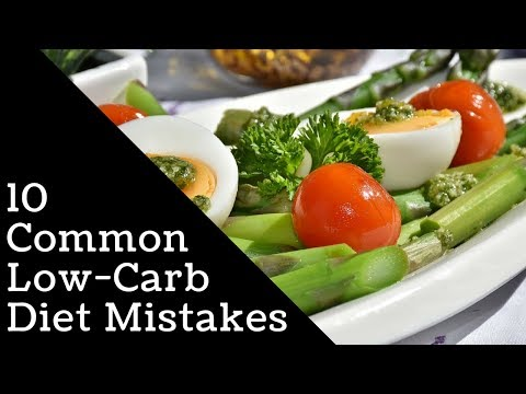 10 Common Low Carb Diet Mistakes