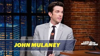 John Mulaney explains why comedians make fun of Florida all the time, gives his take on Trump's scandals and reminisces about his time as a writer for SNL ...