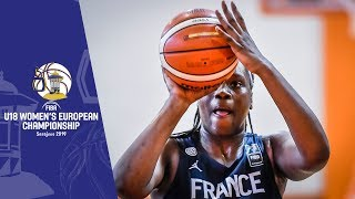 Spain v France - Full Game - FIBA U18 Women's European Championship 2019