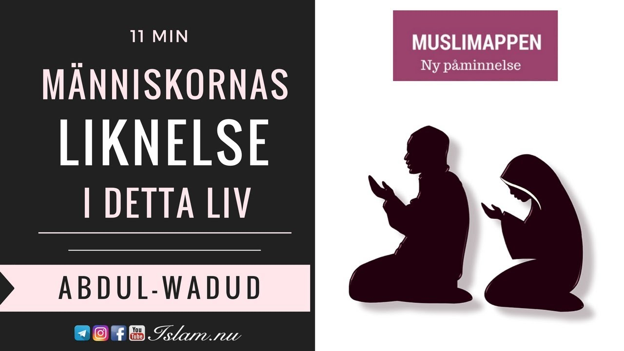 Människornas liknelse i detta liv | Muslimappen