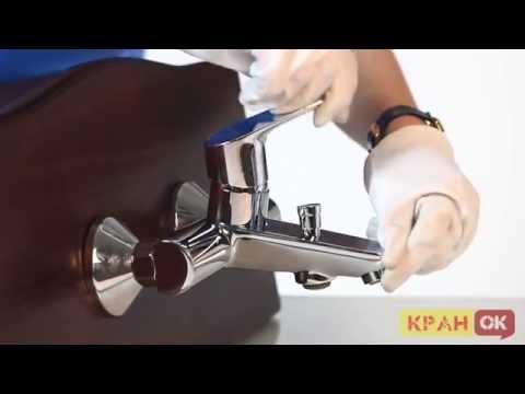 Видео Смесители для ванной ремонт душа