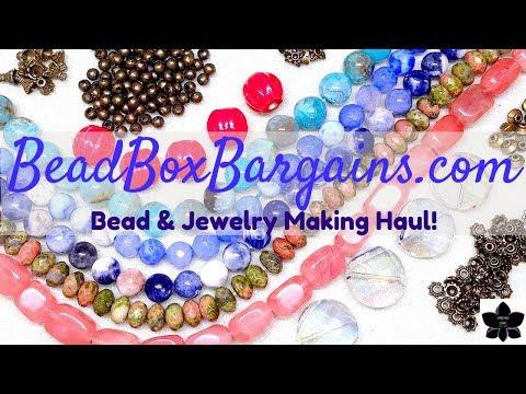 January 2019 | Bead Box Bargains | Online Beaded Jewelry Making Haul