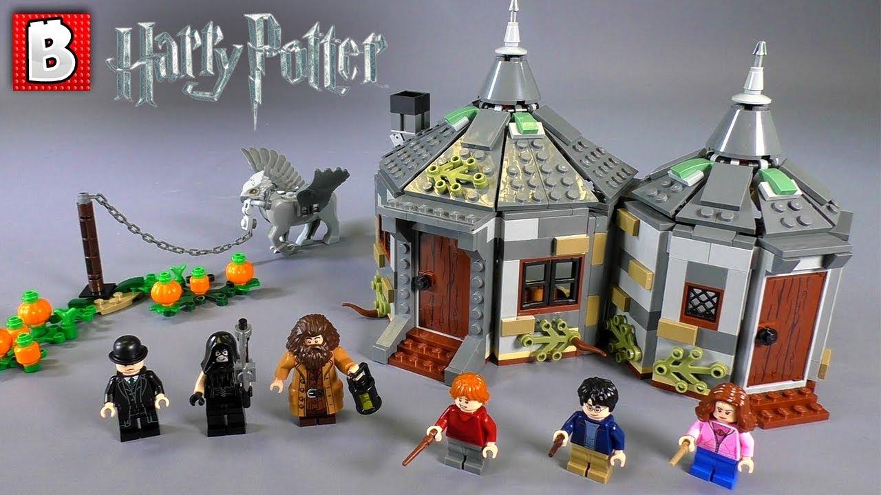 Harry Potter 2019 LEGO  Hagrid's Hut Buckbeak's Rescue Set Review!