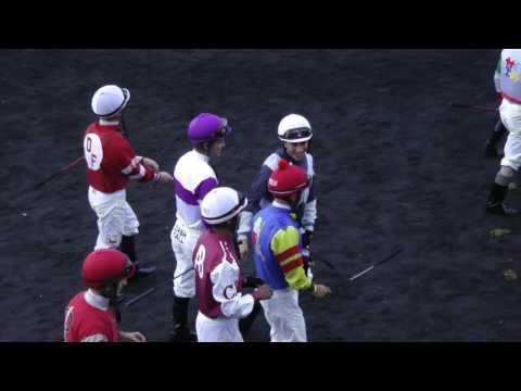 jockeys enter the paddock