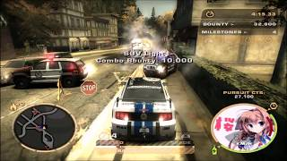 【NFSMW】NFS Most Wanted WTF Funny Moments 3 - 霧島レイ痛車 Ver.