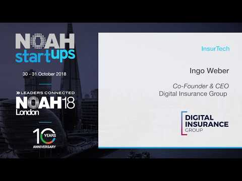 Digital Insurance Group  - NOAH18 London