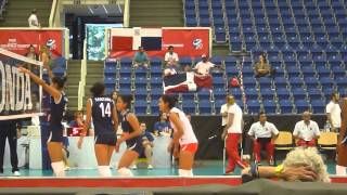 Campeonato Mundial de Voleibol Femenino Sub-20: Peru - Republica Dominicana