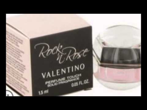 Rock n Rose Solid Perfume by Valentino .05 oz Perfume Touch Solid Perfume for Women