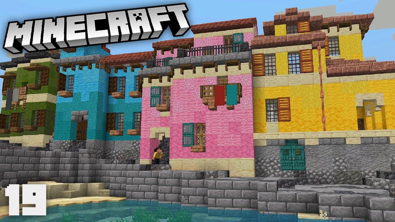 Making BIG Progress on my New Tuscan City! | Minecraft 1.17 Survival