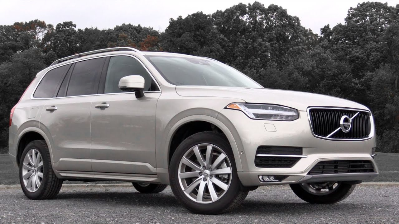 2017 volvo xc90 t6 momentum review youtube. Black Bedroom Furniture Sets. Home Design Ideas