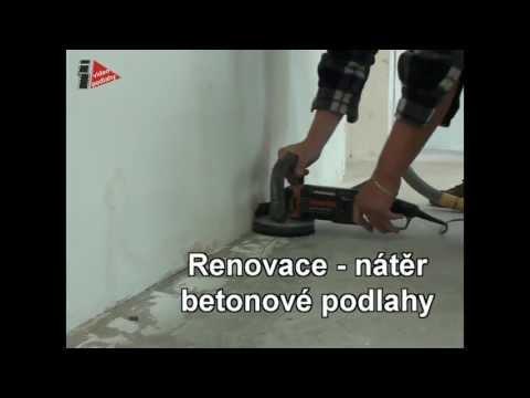 Renovace betonové podlahy - jak se dělá epoxidový nátěr