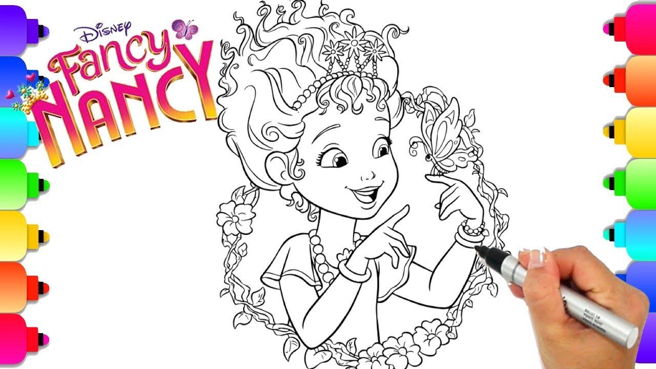 - Learn How To Draw Fancy Nancy From Disney's Hit Show Fancy Nancy