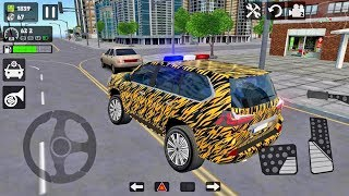 Offroad LX 570 #3 Suv Game & Police Car Game NEW PAINT - Android gameplay