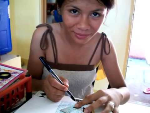 Making Zentangle Designs With Christine - Life in the Philippines