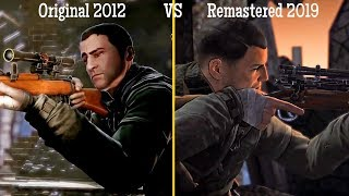 "Sniper Elite V2 Remastered 2019 VS Original 2012 ""Graphics Comparison"""