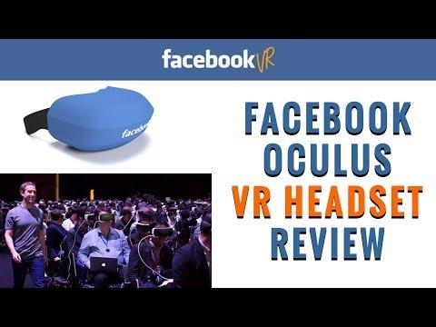 Facebook VR Headset - Oculus Rift Review