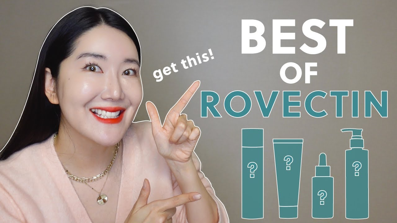 What I wanna recommend from Rovectin! My holygrails🦄💜🦄