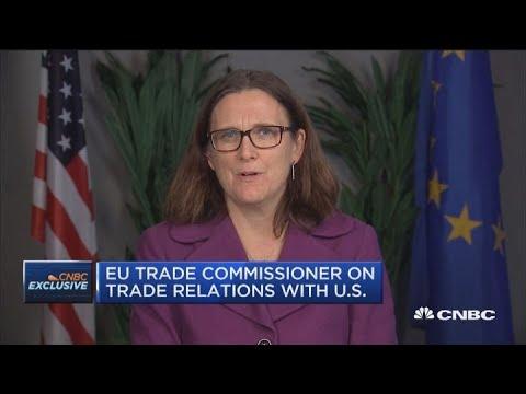 We share U.S. criticisms of China trade: EU trade commissioner