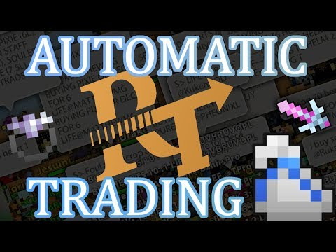 [ROTMG] NEW AUTOMATIC/OFFLINE TRADING in Realm of the Mad God - Realm Trades (2018)