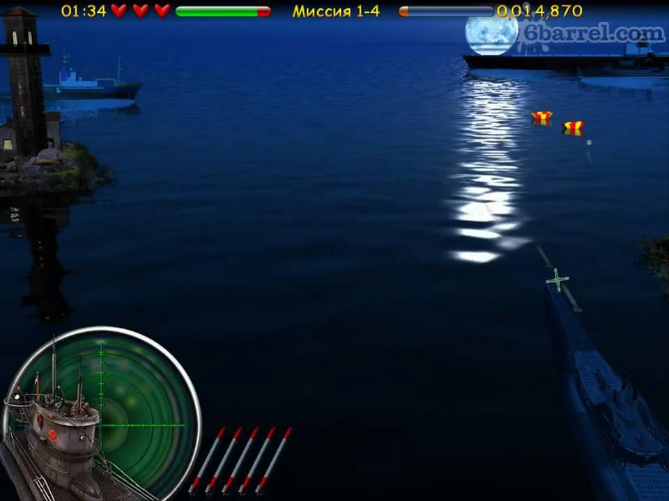 Скачать Игру Морской Бой Подводная Война - фото 7