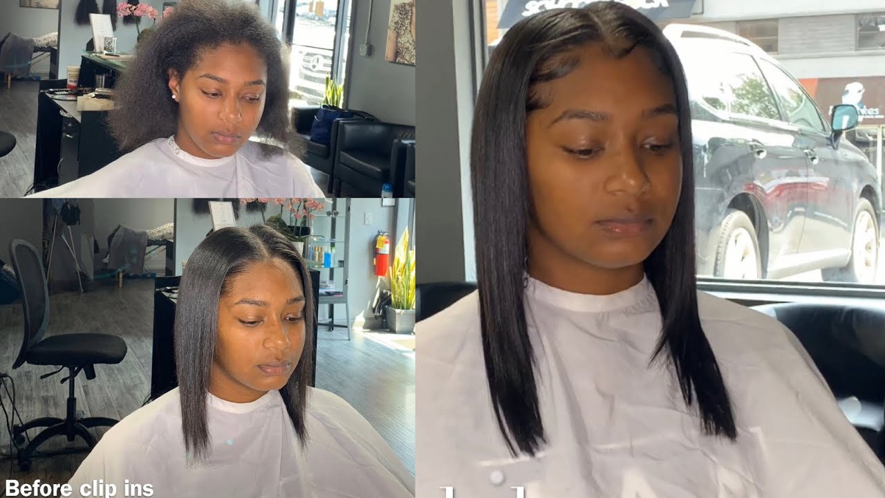 GOT FINE/THINNER HAIR?? Try these easy to install clip ins