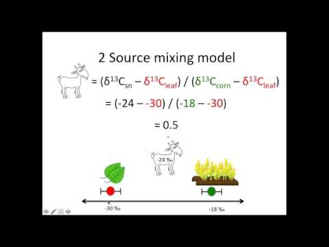 Stable Isotope Mixing Models