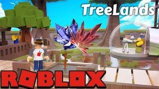 TreeLands Beta Roblox Собираем урожай и выполняем квесты