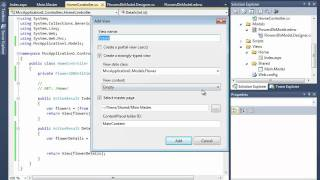 ASP.NET MVC: 5 - создание представления для деталей
