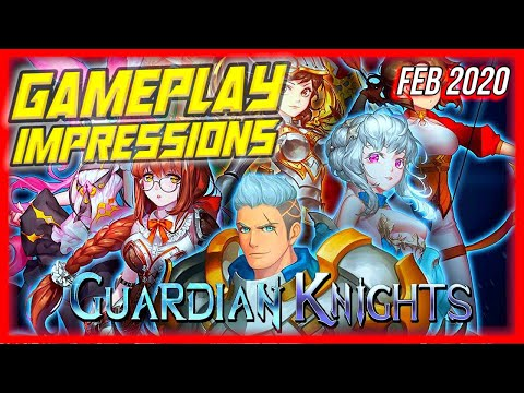 Guardian Knights - Gameplay Impressions Review! Amazing RPG Android Mobile Game!
