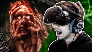 SCARY GAMES! - VIRTUAL REALITY on HTC VIVE - (Horror Games)