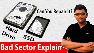 Bad Sector On Storage Device ? Hard Drive, SSD Explained