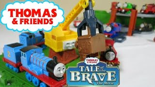 THOMAS AND FRIENDS TALE OF THE BRAVE SCRAPYARD PERCY REG DIESEL ...