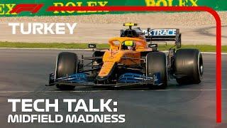 Midfield Teams Battle For Supremacy | Tech Talk | 2020 Turkish Grand Prix