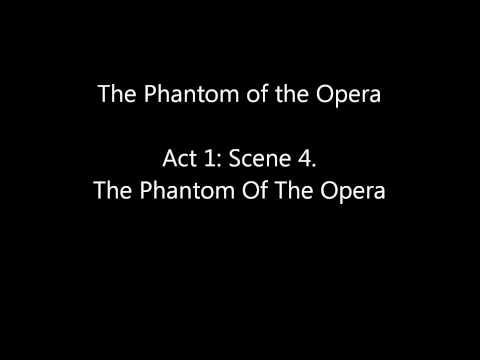 The Phantom of the Opera Act 1: Scene 3 - Scene 5 mp3