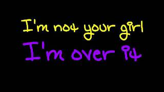 Katharine Mcphee - Over it (Lyrics)