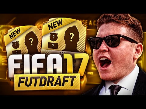 FIRST FIFA 17 FUT DRAFT!!!